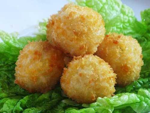 Кулинария: Японские рисовые шарики с сыром