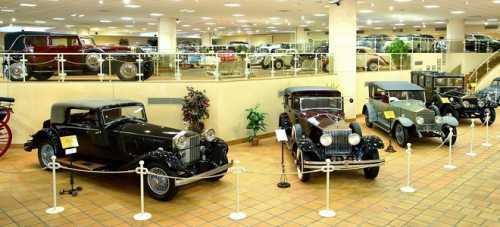 Музей автомобилей, Музей старинных автомобилей принца Ренье III