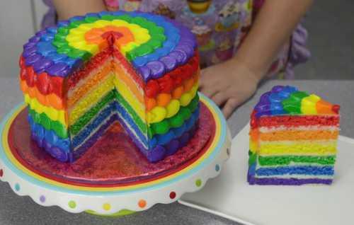 Рецепты торта Радуга: секреты выбора