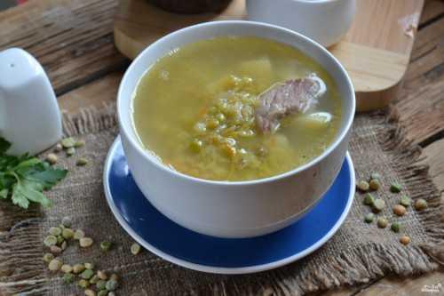 Классический гороховый суп