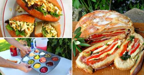 Меню для пикника: мясо, рыба и овощи