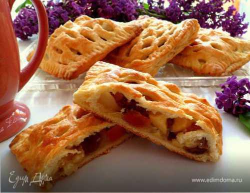 Пироги с грушами