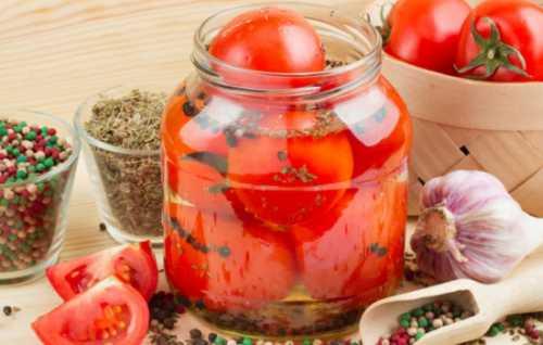 Узнай рецепт сладких помидоров на зиму,  секреты