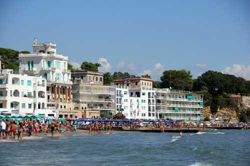 Море недалеко от Рима в городке Anzio