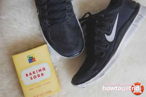 Как избавиться от запаха в кроссовках