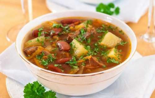 Рецепты супа с мясом и картошкой, секреты выбора