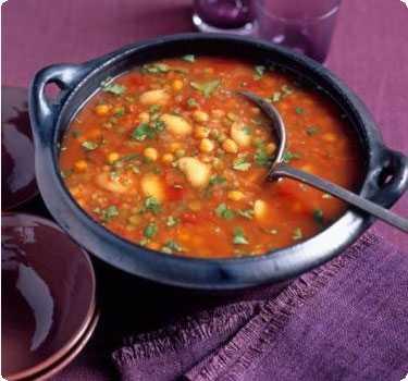 Для супов или вторых блюд используется горох, фасоль или чечевица