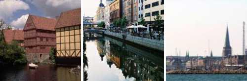 Город Орхус Дания
