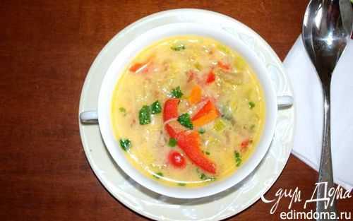 Суп с кокосовым молоком